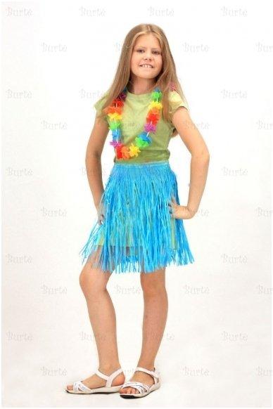 Havajietiškas sijonas, vaikams