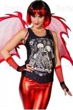 Skeleto marškinėliai