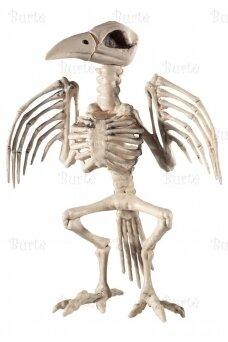 "Helovino dekoracija ""varnos skeletas"""