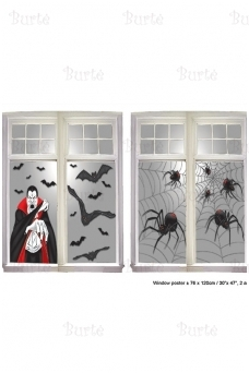 "Halloween decoration ""Window"""