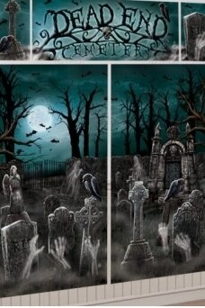 Decoration Kit Wall Cemetery Foil