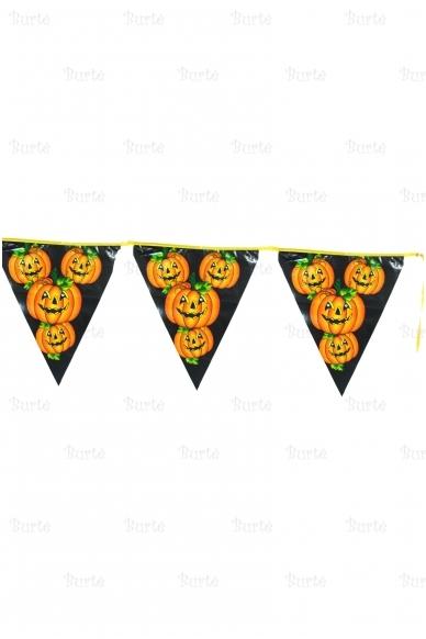 Helovino vėliavėlių girlianda