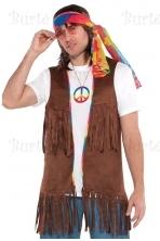 Hippie Vest Peace Long