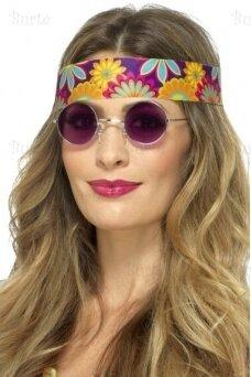 Hipio akiniai, violetiniai
