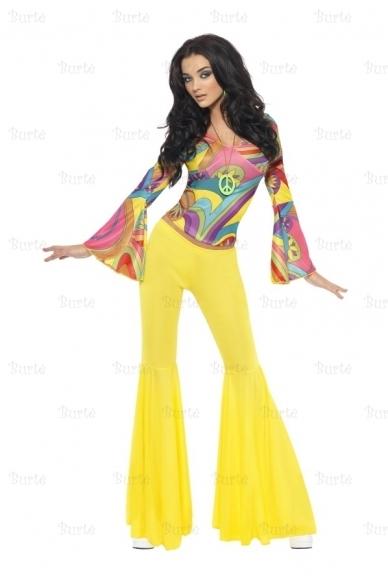 60-70 stiliaus mergina
