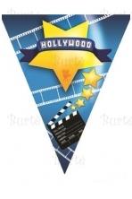 Holivudo vėliavėlių girlianda