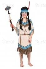 Native American Inspired Warrior Princess Costume, Brown