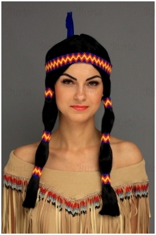 Indian wig