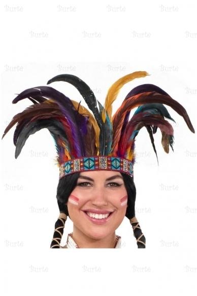 Indėniška plunksnų karūna 2
