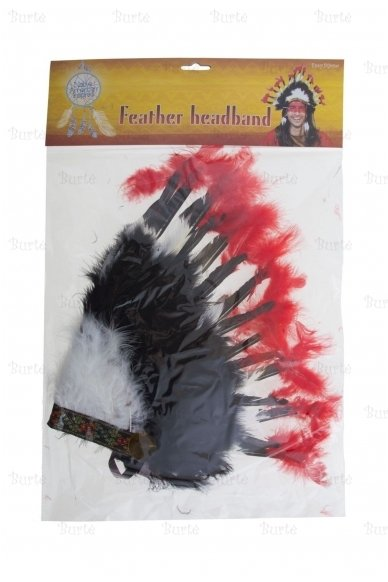 Indėniška plunksnų karūna 3