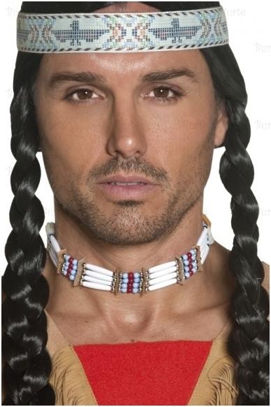 Indėniškas kaklo papuošalas