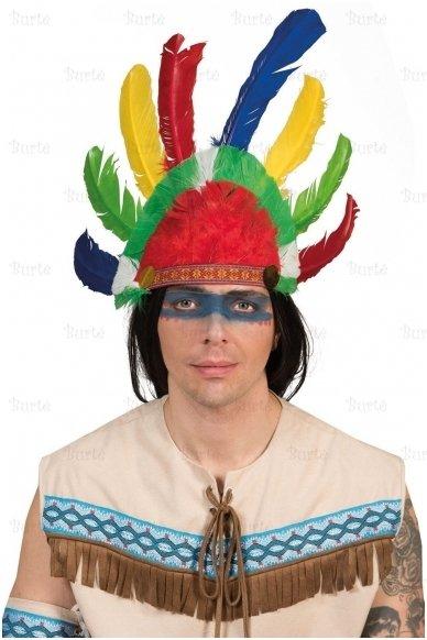 Indėno plunksnų karūna