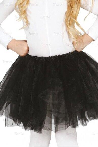 Juodas sijonas (vaikams)