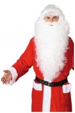 Kalėdų Senelio perukas ir  barzda (natūralios spalvos)