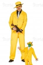 Yellow gangster costume