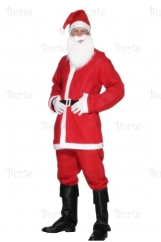 Santa Suit Costume, Red