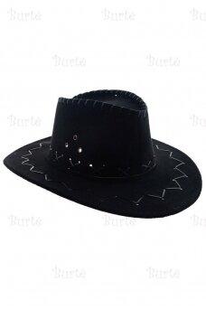 Cowboy hat, Black