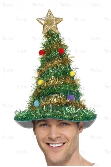 Kalėdų Eglutės kepurė 2