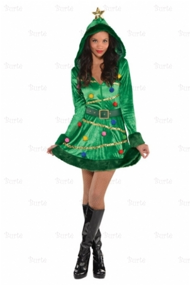 Costume Christmas Tree Dress 2