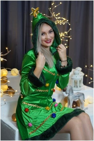 Kalėdų Eglutės kostiumas
