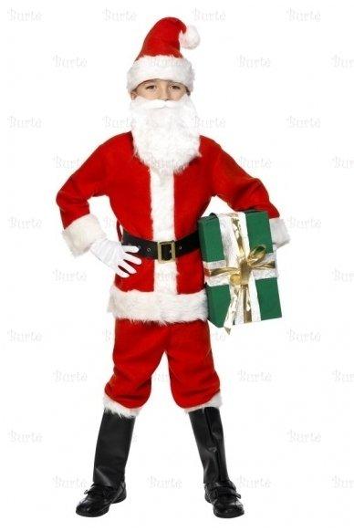 Kalėdų Senelio kostiumas vaikams