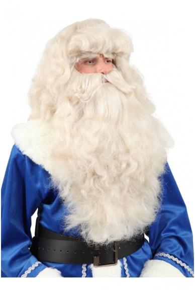 Kalėdų Senelio perukas ir barzda (su antakiais) 5