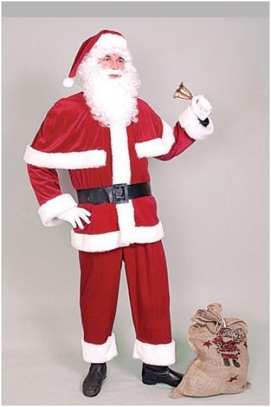 Deluxe Santa Suit costume 2