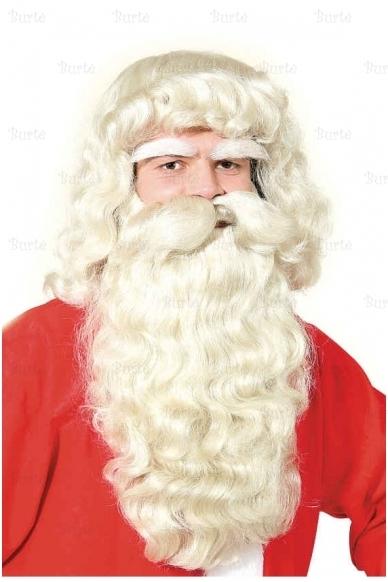 Kalėdų Senelio perukas ir barzda (su antakiais) 2