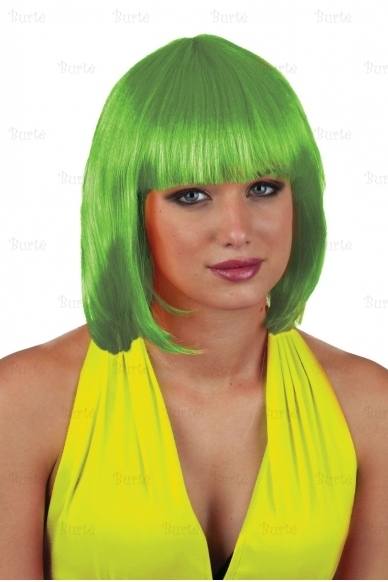 Kare perukas, žalias