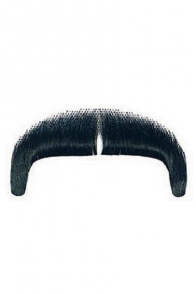 Priklijuojami tikrų plaukų gangsterio ūsai