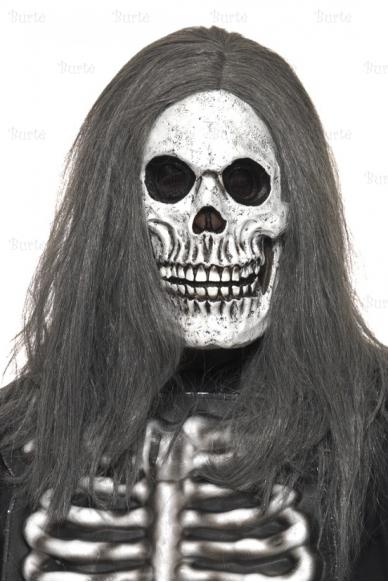 Giltinės kaukė su plaukais