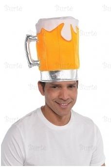 """Kepurė """"alaus bokalas"""""""