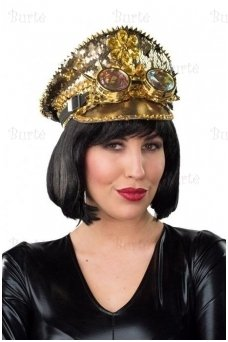Gold Plated Peaked Cap