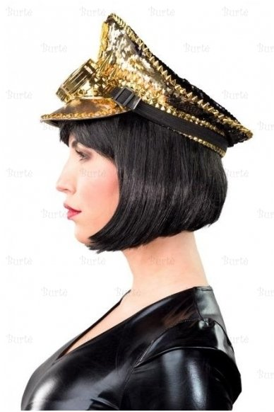 Gold Plated Peaked Cap 2
