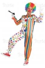 Children's Costume Clown Jumpsuit
