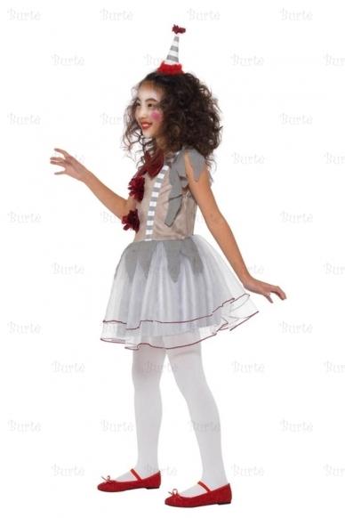 Vintage Clown Girl Costume 2