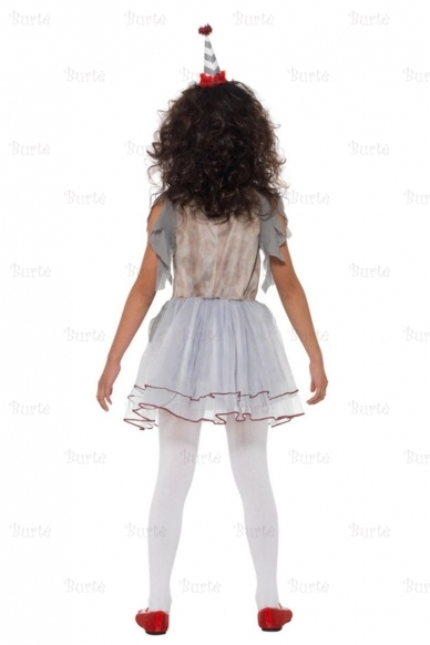 Vintage Clown Girl Costume 3