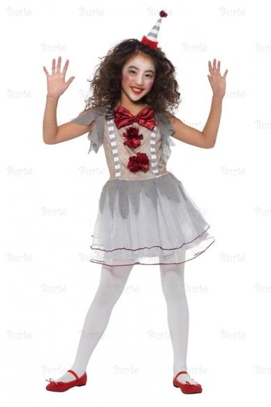 Vintage Clown Girl Costume 4