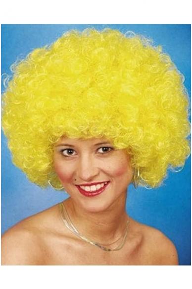 Geltonas klouno perukas