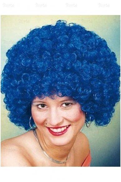Mėlynas klouno perukas