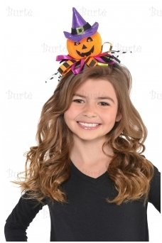 Headband Crafty Jack-O-Lantern