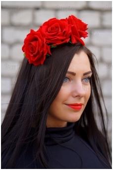 Lankelis su rožėmis