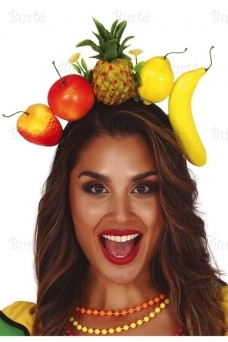 Tropical fruits hairband