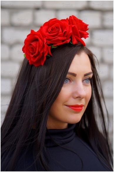 Lankelis su rožėmis 3