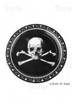 Lėkštės piratų vakarėliui