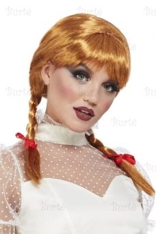 Парик фарфоровой куклы