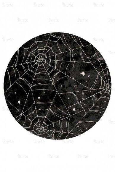 Lėkštės Helovino vakarėliui