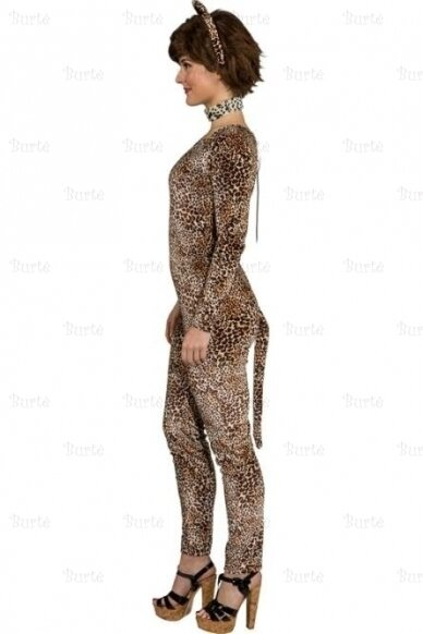 Overall leopard lady 3