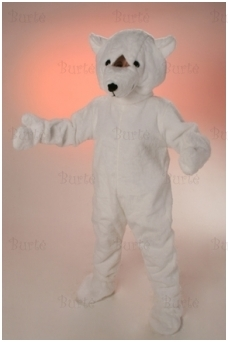 White bear costume