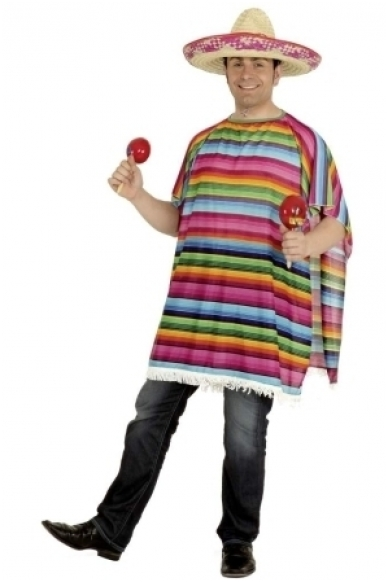 Mexican poncho 2